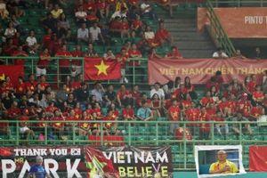Vietnam Airlines tăng 3 chuyến bay đến Indonesia phục vụ cổ động viên