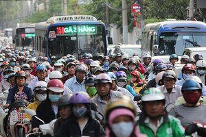 Đề xuất cấm xe máy vào trung tâm TP.HCM: Khó!