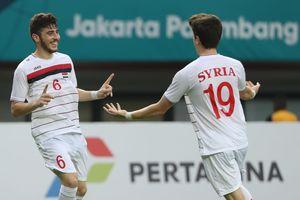 Hơn nửa đội hình Olympic Syria từng nếm 'trái đắng' trước U23 Việt Nam