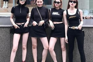 4 chị em chân siêu dài nhà 'bạn gái' Sơn Tùng khiến mày râu mê mẩn