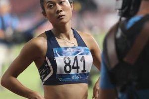 ASIAD 18: Lê Tú Chinh thua VĐV Thái Lan ở vòng loại 100m nữ