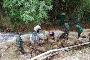 Kỳ Sơn tập trung khắc phục hậu quả mưa lũ