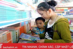 Sẽ cung ứng đủ sách giáo khoa trước năm học mới ở Hà Tĩnh