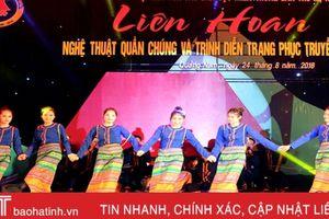 Hà Tĩnh để lại ấn tượng tại Ngày hội Văn hóa các dân tộc miền Trung