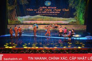 Khai mạc Liên hoan Dân ca ví, giặm Nghệ Tĩnh lần thứ IV tại Hà Tĩnh