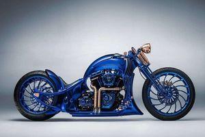 Lóa mắt với 'quái thú xanh' Harley Davidson giá 44 tỷ đồng