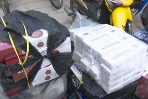An Giang: Bắt quả tang điểm tập kết 8.500 bao thuốc lá ngoại nhập lậu
