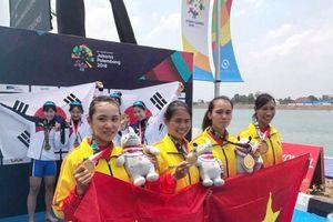 Hội LHPN Việt Nam gửi thư chúc mừng Đội rowing nữ tại ASIAD 2018