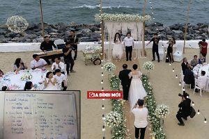 Thực đơn tiệc đính hôn Trường Giang - Nhã Phương khiến khách mời 'mắt tròn mắt dẹt' vì có món này