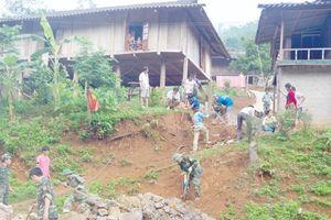 Bộ đội biên phòng tỉnh chung sức xây dựng nông thôn mới khu vực biên giới