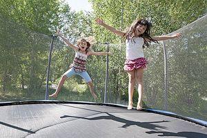 Trampolines có an toàn cho trẻ em?