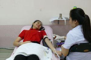 Hàng trăm người tham gia ngày hội 'Tôi nhóm máu O'