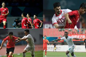 8 đội bóng vào tứ kết ASIAD 2018: Việt Nam là đại diện duy nhất của ĐNÁ