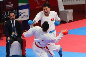 Thua nhà vô địch thế giới, Minh Phụng giành HCB Karate ASIAD 18