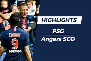Highlights PSG 3-1 Angers: Neymar, Cavani và Mbappe cùng tỏa sáng