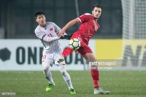 Tin vui với HLV Park Hang-seo: U23 Syria không có trung phong hay nhất từng làm khổ U23 Việt Nam