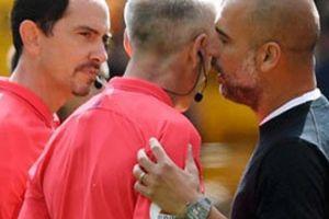 Man City mất điểm do đối thủ ghi bàn bằng tay, Guardiola nói gì về VAR?