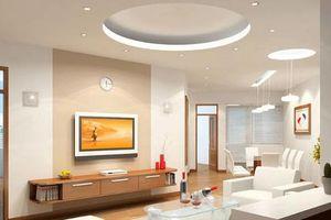 Những điều cần biết khi chọn trần thạch cao cho nhà ở