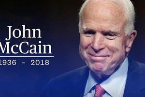 Hai cựu tổng thống Mỹ được đề nghị đọc điếu văn trong lễ tang ông John McCain