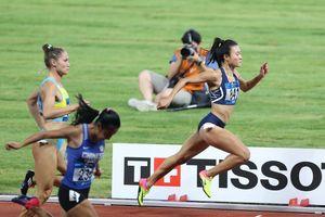 ASIAD 2018: Lê Tú Chinh dừng bước ở bán kết 100 m