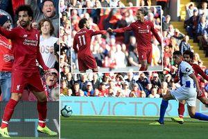 Liverpool vượt Man City, đoạt lại ngôi đầu bảng