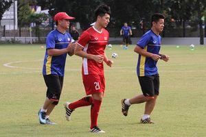 Đình Trọng chạy đua cùng thời gian để tái xuất ở trận Olympic Việt Nam - Syria