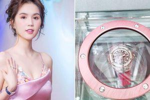 Vừa chi 3 tỷ mua quà sinh nhật, Ngọc Trinh tiếp tục tậu đồng hồ phiên bản giới hạn có giá hơn 1,4 tỷ