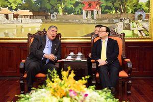 Hà Nội tăng cường hợp tác với Cộng hòa Dominicana