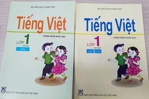 Cách đánh vần lạ trong sách Tiếng Việt Công nghệ Giáo dục lớp 1