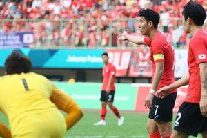 Son Heung-min phản ứng với tinh thần thi đấu của Olympic Hàn Quốc