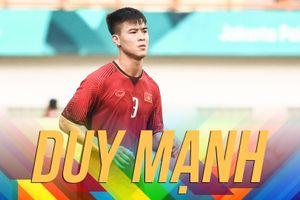 Duy Mạnh bất tỉnh sau chiến tích của Olympic Việt Nam