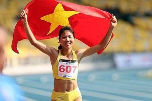 Thu Thảo mang về tấm huy chương vàng lịch sử cho điền kinh Việt Nam