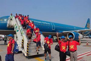 1000 CĐV Việt Nam sang Indonesia cổ vũ
