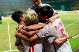 CLIP: Văn Toàn ghi 'bàn thắng vàng', Olympic Việt Nam viết tiếp cổ tích