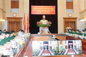 Đoàn kiểm tra của Bộ Chính trị kiểm tra Đảng ủy Bộ đội Biên phòng