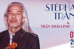 Nghệ sỹ violon-piano Stéphane Trần Ngọc và Thái Linh song tấu
