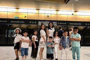 Các thiên tài nhí tham quan quốc đảo sư tử Singapore
