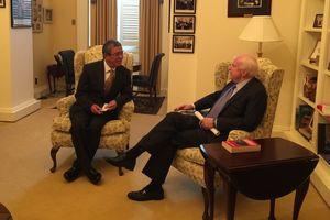 John McCain là một trong những trụ cột thúc đẩy quan hệ Việt Nam - Mỹ