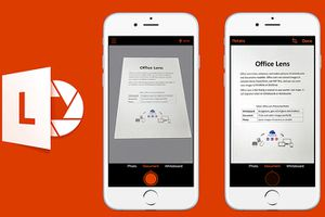 Office Lens cho Android và iOS sắp hỗ trợ chú thích văn bản