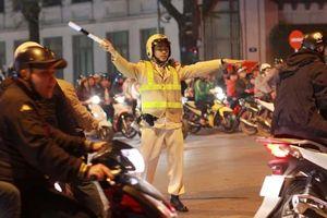 Công an Hà Nội 'tung' lực lượng bảo đảm an ninh trật tự sau trận Olympic Việt Nam - Syria