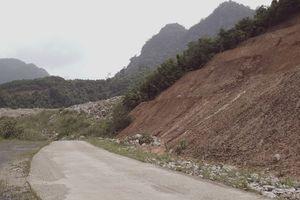 Xây 'đường nông thôn mới' xuyên rừng đặc dụng đến... khu khai thác vàng Thần Sa