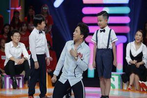 MC Trấn Thành 'bấn loạn' trước câu trả lời ngô nghê của 2 em bé 8 tuổi