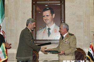 Bộ trưởng Quốc phòng Iran và Syria ký thỏa thuận hợp tác quân sự