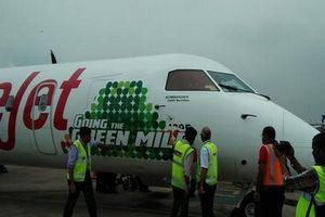 Ấn Độ thử nghiệm máy bay đầu tiên sử dụng nhiên liệu sinh học