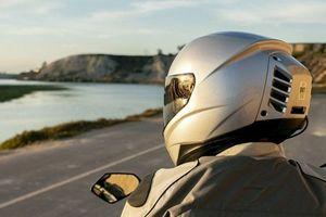 Cận cảnh mũ bảo hiểm gắn… điều hòa mát rượi như 'xế hộp'
