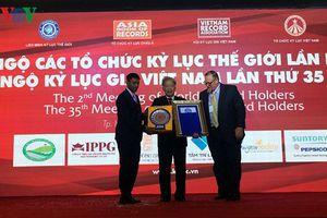 Xác lập thêm 4 kỷ lục thế giới tại Việt Nam
