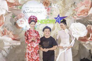 Phan Thị Mơ lộng lẫy kiêu sa trong tà áo dài độc đáo của NTK Minh Châu