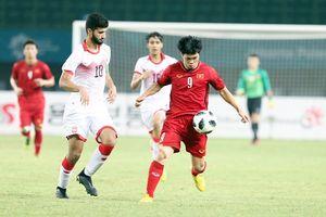 U23 Syria may mắn vì được gặp U23 Việt Nam ở tứ kết ASIAD 18