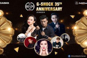 Mua Casio - nhận ngay vé xem đại nhạc hội G-Shock 35th Anniversary