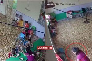Hà Nội: Cô giáo vừa đánh vừa nhét thức ăn cho trẻ 2 tuổi đã đến nhà phụ huynh xin lỗi